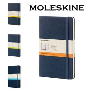 【正規販売】MOLESKINE モレスキン カラーノートハードカバー 横罫 無地 方眼 ドット サフ...