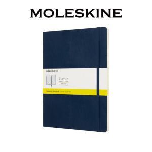 【正規販売】MOLESKINE モレスキン カラーノートソフトカバー 方眼 サファイヤブルー XL
