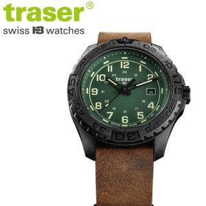 cdcd332273 腕時計 Traser トレーサー Outdoor Pioneer Evolution Green メンズ クオーツ 腕時計 アウトドアパイオニア  エボリューション グリーン