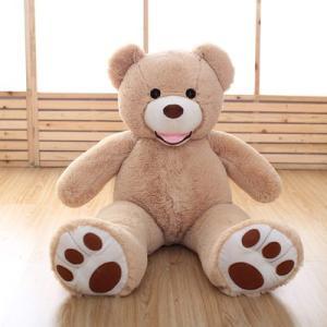 商品名 ぬいぐるみクマ  サイズ/寸法 130cm   素材/材質 ポリエステル・PS  色 ブラウ...