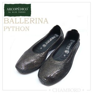エリオさんの靴 アルコペディコ ARCOPEDICO 靴 ラメ バレリーナ ブラック サイズ交換・返品不可|pendant