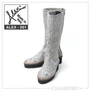 アレックス ブーツ ALEX 靴 春夏 ショートブーツ グレー ALEX-001|pendant