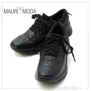 マウリモーダ MAURIMODA 靴 スニーカー 軽量 CINZIA SOFT ブラック イタリア製 M-009|pendant