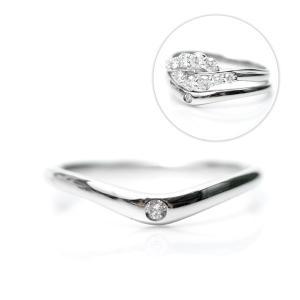 天然 ダイヤモンド リング プラチナ D:0.02ct 一粒 セットリング用単品 結婚11周年に 受注生産/納期約4週間|pendant