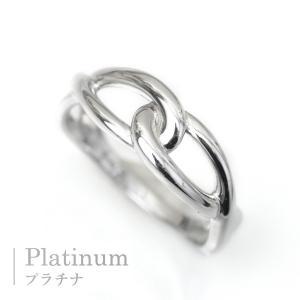 プラチナ 指輪 プラチナリング Pt900 インフィニティ モチーフ デザイン リング|pendant