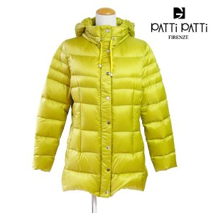PATTi PATTi ダウンコート パティパティ ハーフ コート 軽量 Mサイズ マスタードカラー|pendant