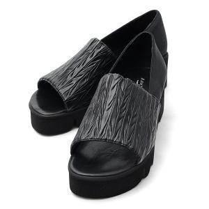 アンジェラ 靴 オープントゥ パンプス ANGELA-003 NEW キャタピラー ソール アンジェラ ANGELA セール アウトレット|pendant