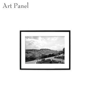 アートパネル 壁飾り 海外 街並み リスボン モダン 壁掛け 白黒 写真 飾り インテリア 絵画 ポ...