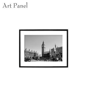 アートパネル ロンドン イギリス 街 モノクロ モダン 壁掛け 白黒 写真 アクリル インテリア 絵...