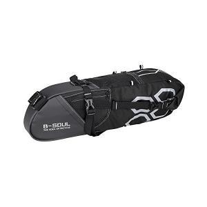 Docooler 10L サドルバッグ 自転車用 バイクリアシートバッグ 自転車保管袋 マウンテンロードバイク用 大容量 軽量 防水|penguin-design