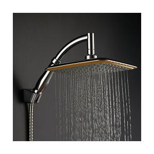 Wellbeingjp シャワーヘッド セット ステンレス オーバーヘッド シャワー 8インチ 降雨 正方形 節水 高水圧 超薄型 シャワーヘッド penguin-design