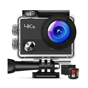APEMAN アクションカメラ 4K ウェアラブルカメラ 防水カメラ アクションカム WIFI搭載 ...