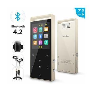 MP3プレーヤー Bluetooth4.2対応 ウォークマン 音楽プレイヤー FMラジオ デジタルオーディオプレーヤー HIFI超高音質 1.8イン