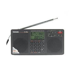 BCLラジオ PL-398MP 高感度 短波ラジオ 短波/AM/FMステレオラジオ MP3再生(SD...
