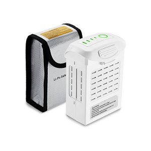 Powerextra DJI Phantom4 ドローン専用バッテリー ドローン用バッテリー 互換バ...