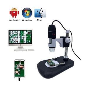 USBデジタル顕微鏡カメラ、jiusion 40-1000X倍率ポータブル内視鏡2万ピクセル8pcs...
