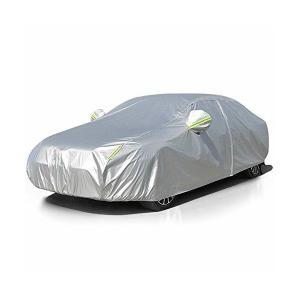 LINFEN 改良版 ボディカバー カーカバー 車 5層構造 裏起毛タイプ 防水防塵防輻射紫外線 車...