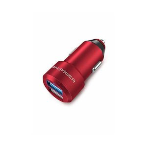 RAVPower カーチャージャー (2ポート 24W/4.8A 急速充電) iPhone/iPad...