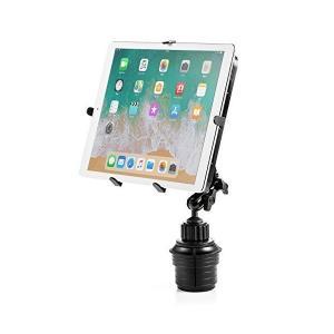 サンワダイレクト iPad タブレット 車載ホルダー カップホルダー/ドリンクホルダー設置 9.71...