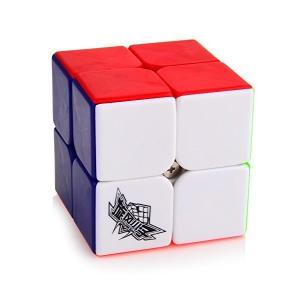 D-FantiX スピードキューブ 2x2 立体パズルキューブ スムーズ回転キューブ 競技用マジック...