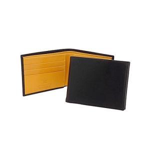 [エッティンガー] ETTINGER 二つ折り財布(小銭入れ付) ブラック BILLFOLD WIT...