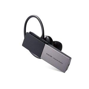 エレコム Bluetooth ヘッドセット USB Type-C(充電端子) 1年間保証 シルバー ...
