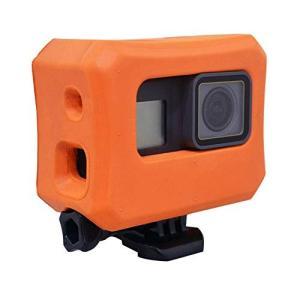 HEQEEZ 浮遊するケース 、GoPro Hero 7/6/5 カメラに用いるの沈下を防ぐ保護カバ...