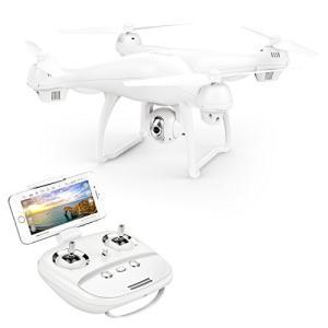 Potensic ドローン GPS搭載 高度・座標ホバリング 広角HDカメラ付き 15分間超長飛行 ...