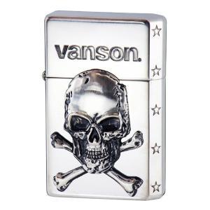 vanson V-GT-03 クロスボーンスカルシルバー|penguin-onlineshop1