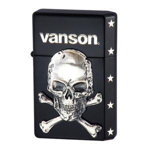 vanson V-GT-04 クロスボーンスカルブラック|penguin-onlineshop1