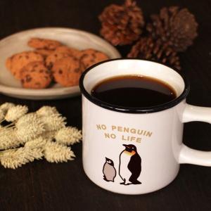 親子 ペンギン フルカラー マグカップ  ( オリジナル カフェ スープ コーヒー ) 耐熱 レンジ対応|penguin-to