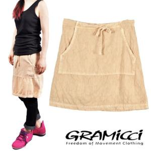 【SALE】GRAMICCI グラミチ / アウトドア スカート / ベージュ / XSサイズ|penguintripper2