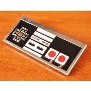 USA古着 アメリカ版ファミコンコントローラー風デザイン ベルトバックル|penguintripper2
