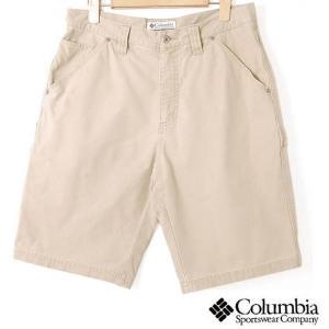 【SALE】Columbia コロンビア / アウトドア ショートパンツ / ベージュ / 32インチ|penguintripper2