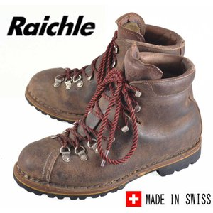 【SALE】ヴィンテージ 1970年代頃 スイス製 /  Raichle ライケル / アウトドア マウンテンブーツ / ダークブラウン / JPN28.0cm|penguintripper2