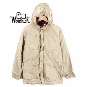 ヴィンテージ 1970年代 / WOOLRICH ウールリッチ / マウンテンパーカ / アウトドアジャケット / ベージュ / メンズM相当|penguintripper2