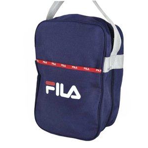 ヴィンテージ 1990年代頃 / FILA フィラ / シューズバッグ セカンドバッグスタイルポーチ / ネイビー×レッド×ホワイト|penguintripper2
