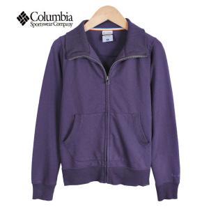 【SALE】Columbia コロンビア / TITANIUM タイタニウム / レディース フルジップ スウェット ジャケット / パープル / レディースS|penguintripper2