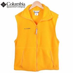 【SALE】Columbia コロンビア / フリースベスト / アウトドアベスト / イエロー / メンズS|penguintripper2