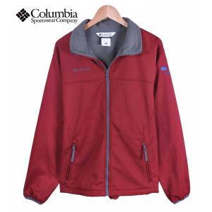 【SALE】Columbia コロンビア / 企業別注 / Shelby Precision Softshell Jacket / アウトドア 内側フリース ジャケット / バーガンディ / メンズM penguintripper2