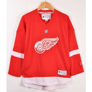 Reebok CCM リーボックCCM NHL デトロイト・レッドウィングス ホッケーシャツ レディースL相当|penguintripper2