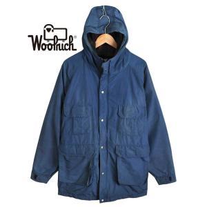 【SALE】ヴィンテージ 1980年代 USA製 / WOOLRICH ウールリッチ / マウンテンパーカ / アウトドアジャケット / ネイビー / メンズL|penguintripper