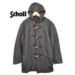 USA製 Schott ショット ダッフルコート Lot:AT758 グレー 40 メンズM相当 penguintripper