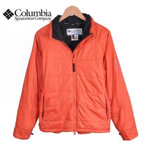 【SALE】Columbia コロンビア / TITANIUM タイタニウム / 中綿ナイロンジャケット / オレンジ / レディースL penguintripper