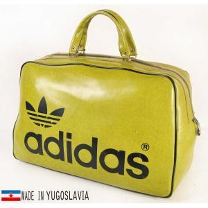 ヴィンテージ 70年代初期 ユーゴスラビア製 adidas アディダス スポーツ ボストンバッグ(14810|penguintripper