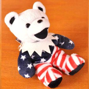 LIQUID BLUE Grateful Dead Bean Bear グレイトフルデッド ビーンベア デッドベア FREEDOM フリーダム|penguintripper