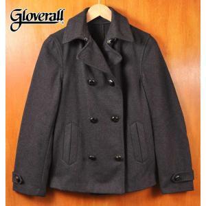 イングランド製 GLOVERALL グローバーオール ショートコート ダークチャコールグレー レディースS相当 penguintripper