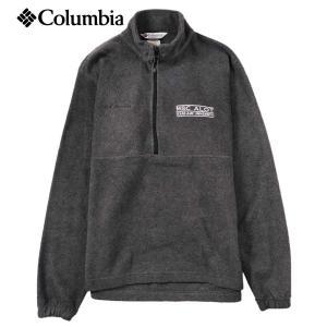 Columbia コロンビア テキサスA&M大学 カレッジ系 ハーフジップ フリースジャケット グレー メンズM相当|penguintripper