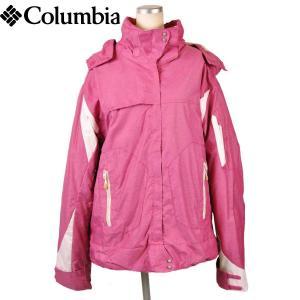 Columbia コロンビア TITANIUM タイタニウム OMNI-SHIELD オムニシールド アウトドア マウンテンパーカ スノーボードジャケット ピンク レディースL|penguintripper