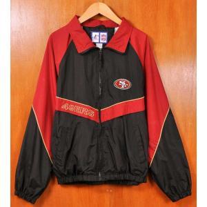 ヴィンテージ 1990年代 NFL サンフランシスコ 49ers ナイロンジャケット メンズL相当|penguintripper
